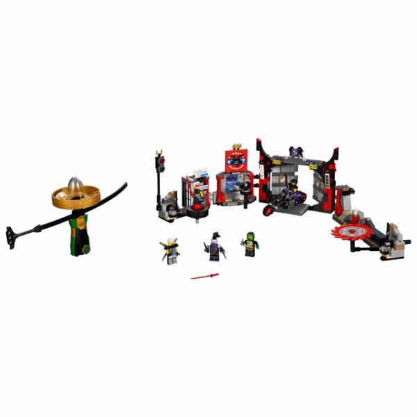 70640 - Quartier generale S.O.G. - Lego Ninjago - Toys Center - LEGO NINJAGO - Costruzioni