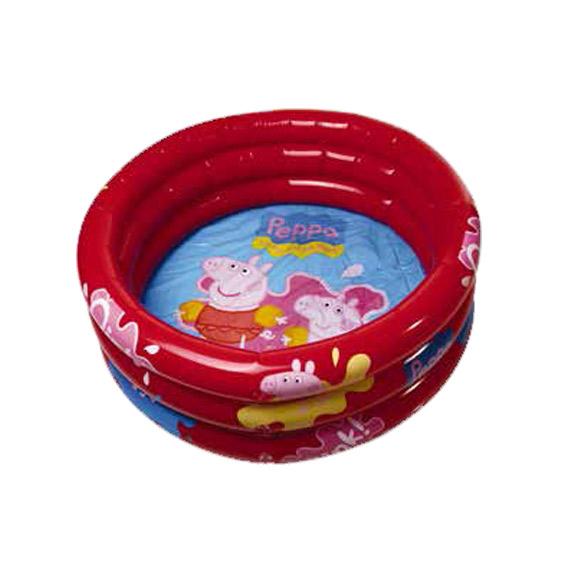 Giochi Preziosi - Peppa Pig, Piscina 3Tubi cm100x50 - ALTRO - Estate
