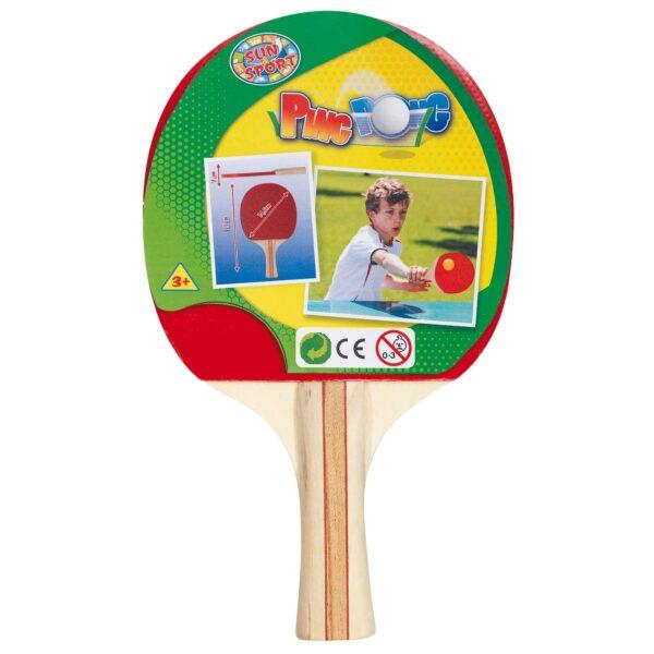 RACCHETTA DA PING PONG - Sun&sport - Toys Center SUN&SPORT Unisex 12-36 Mesi, 12+ Anni, 3-5 Anni, 5-7 Anni, 5-8 Anni, 8-12 Anni ALTRI