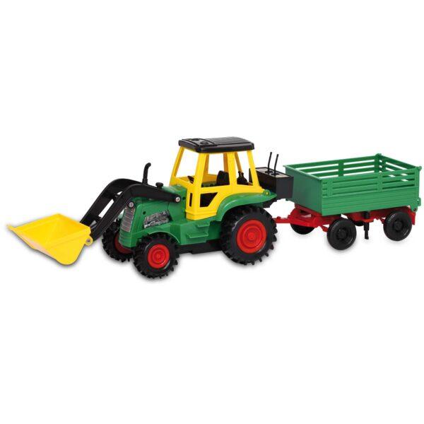 TRATTORE SCAVATORE CN RIMORCH - MOTOR&CO - Veicoli giocattolo a batteria