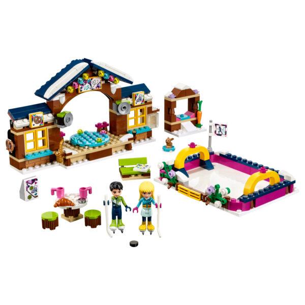 41322 - La pista di pattinaggio del villaggio invernale - Lego Friends - Toys Center - LEGO FRIENDS - Costruzioni