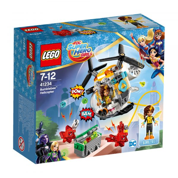 41234 - L'elicottero di Bumblebee™ - Giocattoli Toys Center DC COMICS Femmina 5-7 Anni, 8-12 Anni DC SUPERHERO GIRLS