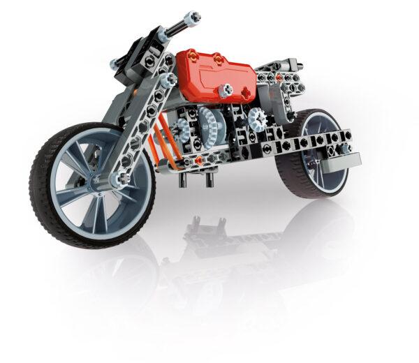 Clementoni - 13969 - Lab Mec - Roadster & Dragster ALTRI Unisex 12+ Anni, 8-12 Anni FOCUS / SCIENZA&GIOCO