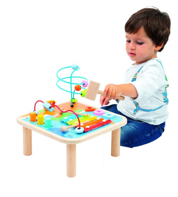 WOOD'N PLAY TAVOLO MULTI-ATTIVITÀ - Wood 'n' Play - Toys Center - WOOD 'N' PLAY - Altri giochi per l'infanzia