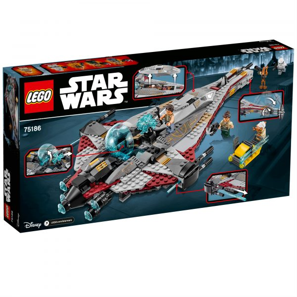 75186 - Arrowhead - Disney - Toys Center Star Wars Maschio 12+ Anni, 5-8 Anni, 8-12 Anni Disney