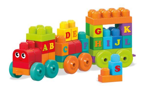 Mega first Builders - Impara con il treno! ALTRI Maschio 0-12 Mesi, 12-36 Mesi, 12+ Anni, 8-12 Anni MEGA BLOKS