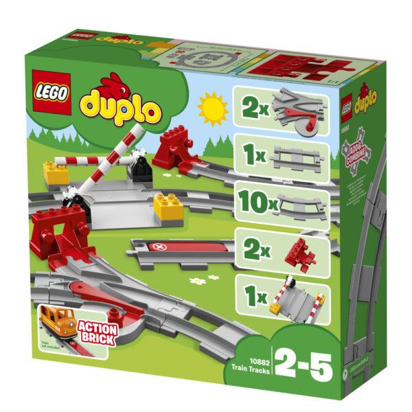 10882 - Binari ferroviari ALTRI Unisex 12-36 Mesi, 12+ Anni, 3-5 Anni, 5-8 Anni, 8-12 Anni LEGO DUPLO
