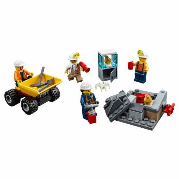 LEGO CITY ALTRI LEGO City - Team della miniera -  60184 Maschio 12+ Anni, 3-5 Anni, 5-8 Anni, 8-12 Anni