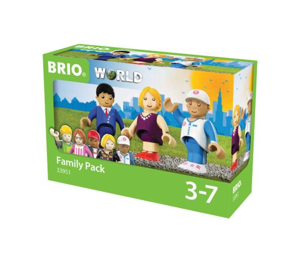 BRIO pacchetto famiglia BRIO Unisex 12-36 Mesi, 3-4 Anni, 3-5 Anni, 5-7 Anni, 5-8 Anni ALTRI