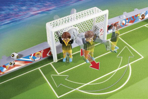 ALTRI PLAYMOBIL - SPORTS&ACTION Maschio 3-4 Anni, 5-7 Anni, 8-12 Anni FOOTBALL CAMPO CALCIO PIEGHEV