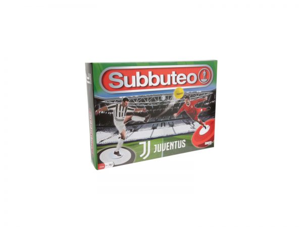 Subbuteo Playset Juventus con 2 Squadre Tappeto Gioco, 2 Porte, Pallone SUBBUTEO Maschio 12+ Anni, 5-8 Anni, 8-12 Anni ALTRI