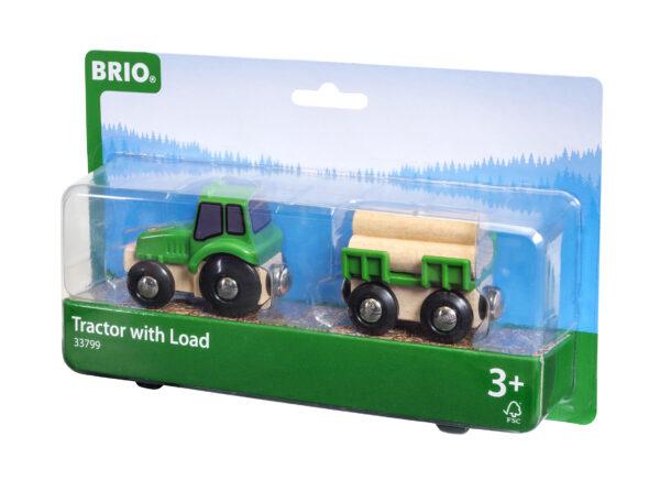 BRIO trattore con rimorchio - BRIO