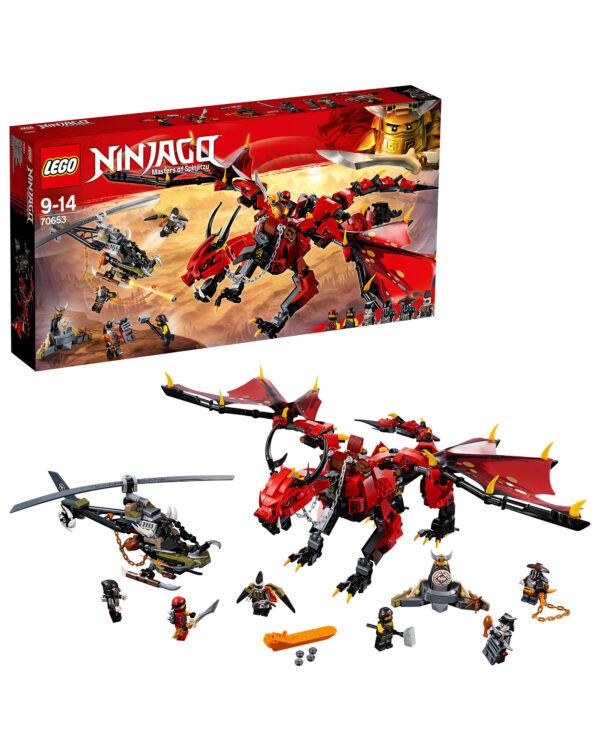 LEGO NINJAGO ALTRI 70653 - Dragone del destino - Lego Ninjago - Toys Center Unisex 12+ Anni, 8-12 Anni