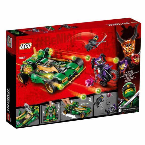 70641 - Nightcrawler Ninja - Lego Ninjago - Toys Center ALTRI Maschio 12+ Anni, 8-12 Anni LEGO NINJAGO