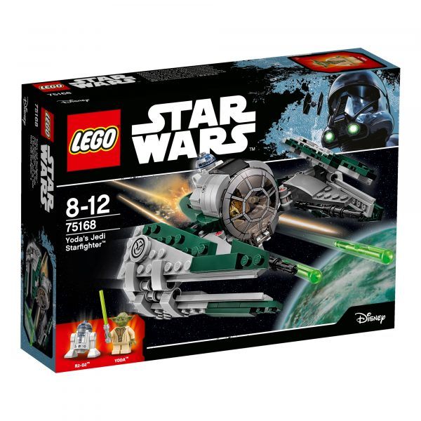 75168 - Jedi Starfighter™ di Yoda - Disney - Toys Center Disney Maschio 8-12 Anni Star Wars