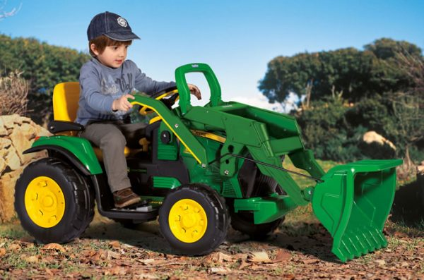 JOHN DEERE GROUND LOADER - Peg Perego - Fino al -20%