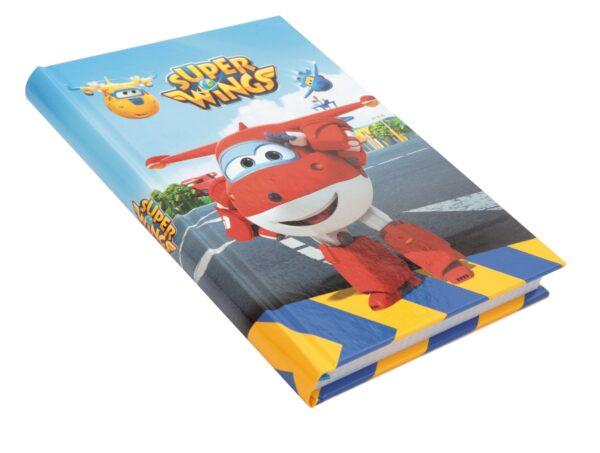 DIARIO 10 MESI FORMATO STANDARD SUPER WINGS - Altro - Toys Center ALTRO Unisex 3-5 Anni, 5-7 Anni, 5-8 Anni, 8-12 Anni Super Wings