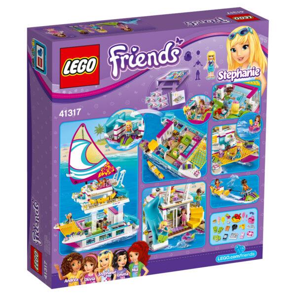 LEGO  Friends- Il Catamarano - 41317 ALTRI Femmina 5-7 Anni, 5-8 Anni, 8-12 Anni LEGO FRIENDS