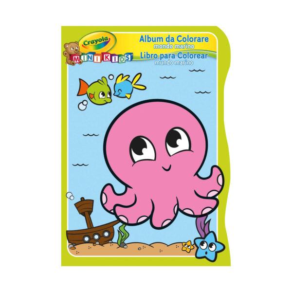 Album da colorare Crayola Mini Kids - 3 soggetti assortiti ALTRO Unisex 0-12 Mesi, 12-36 Mesi, 3-5 Anni ALTRI
