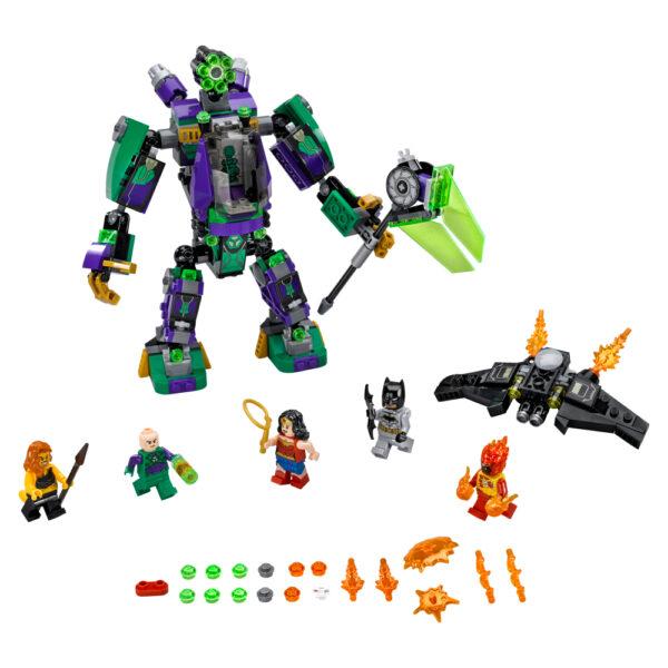 LEGO SUPER HEROES ALTRI 76097 - Duello robotico con Lex Luthor™ - Lego Super Heroes - Toys Center Maschio 12+ Anni, 5-8 Anni, 8-12 Anni
