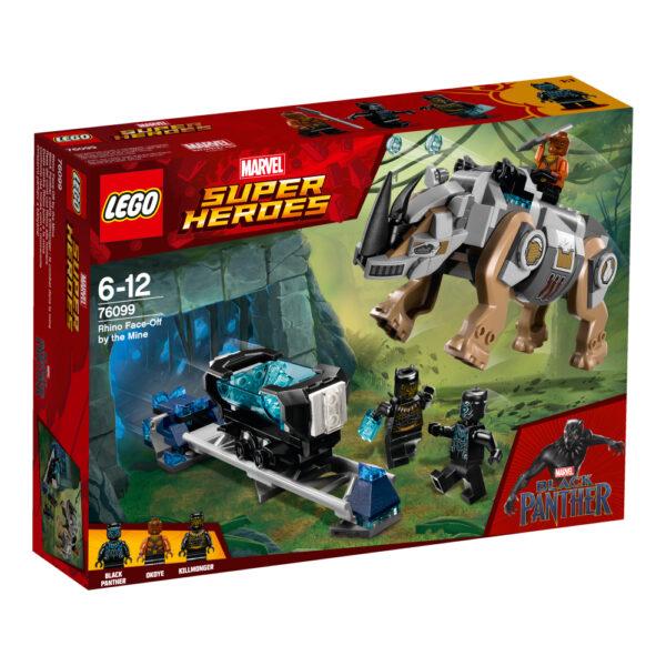 76099 - Resa dei conti con Rhino alla miniera - Lego Super Heroes - Toys Center LEGO SUPER HEROES Maschio 12+ Anni, 5-8 Anni, 8-12 Anni ALTRI