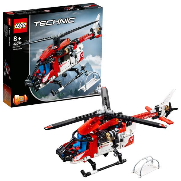 LEGO TECHNIC - Elicottero di salvataggio 42092 LEGO TECHNIC Unisex 12+ Anni, 5-8 Anni, 8-12 Anni ALTRI