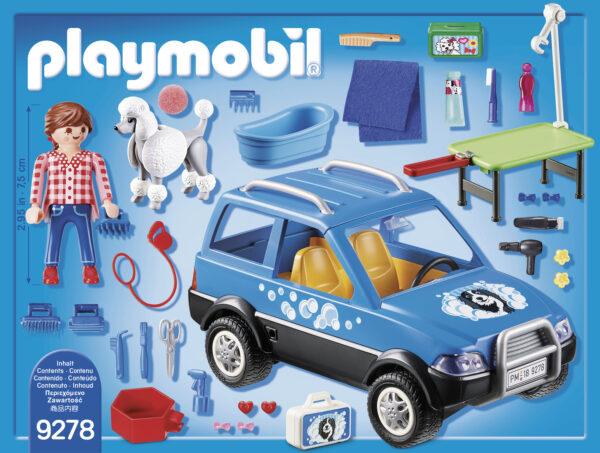 UNITÀ MOBILE DI CURA DEI CANI - Playmobil - City Life - Toys Center ALTRI Unisex 12+ Anni, 3-5 Anni, 5-8 Anni, 8-12 Anni Playmobil City Life