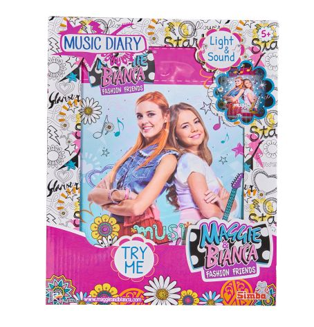 Maggie & Bianca Music Diary - Diari segreti - Giochi creativi - Giocattoli ALTRO Femmina  Maggie & Bianca