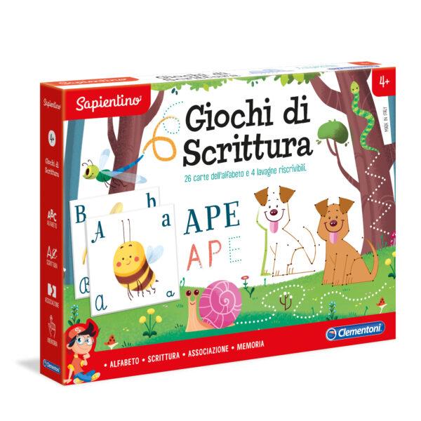 GIOCHI DI SCRITTURA - Sapientino - Toys Center SAPIENTINO Unisex 3-5 Anni, 5-8 Anni ALTRI