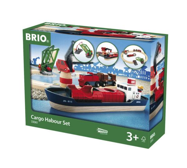BRIO set servizio ferroviario portuale BRIO Unisex 12-36 Mesi, 3-4 Anni, 3-5 Anni, 5-7 Anni, 5-8 Anni ALTRI