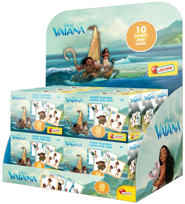 Disney OCEANIA Vaiana giant cards Unisex 3-4 Anni, 3-5 Anni, 5-7 Anni, 5-8 Anni, 8-12 Anni