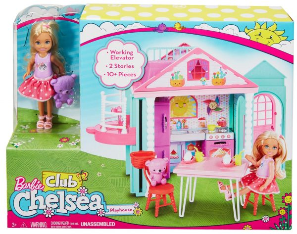 ALTRI Barbie La Casa di Chelsea 12-36 Mesi, 12+ Anni, 3-5 Anni, 5-8 Anni, 8-12 Anni Femmina
