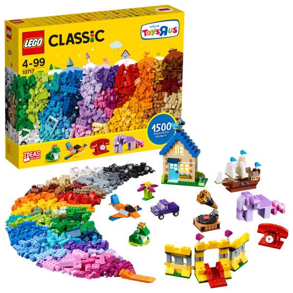 10717 - Mattoncini, mattoncini, mattoncini - Lego Classic - Toys Center - LEGO CLASSIC - Costruzioni