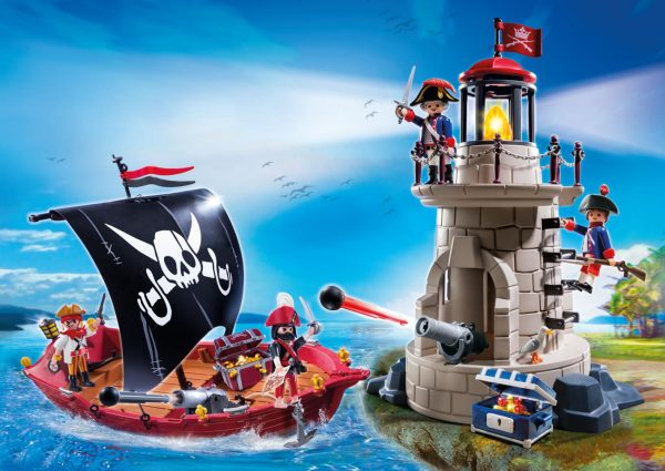 SUPER SET PIRATI - Playmobil - Pirates - Toys Center ALTRI Unisex 12+ Anni, 3-5 Anni, 5-8 Anni, 8-12 Anni Playmobil Pirates