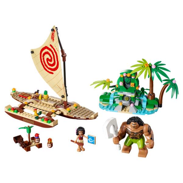 41150 - Il viaggio sull'oceano di Vaiana - Giocattoli Toys Center - Disney - Costruzioni