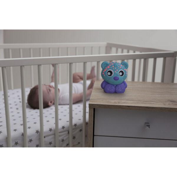 Buonanotte orso - luce notturna e proiettore (blu) - ALTRO - Altri giochi per l'infanzia