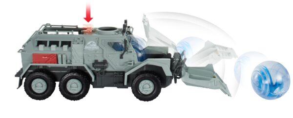 Jurassic World - Veicolo avventura, set macchina con girosfera come nel film - ALTRO - Action figures