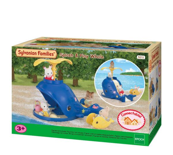 Balena Splash & Play SYLVANIAN FAMILIES Femmina 12-36 Mesi, 3-4 Anni, 3-5 Anni, 5-7 Anni, 5-8 Anni, 8-12 Anni ALTRI