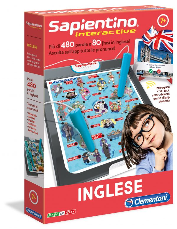 SAPIENTINO INTERACTIVE - INGLESE - Sapientino - Toys Center - SAPIENTINO - Giochi educativi, musicali e scientifici