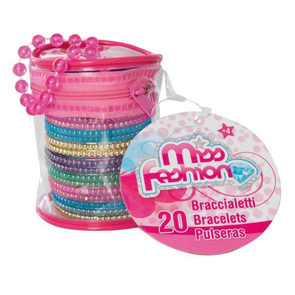MISS FASHION BRACCIALETTI FASHION - Miss Fashion - Toys Center MISS FASHION Femmina 3-5 Anni, 5-8 Anni ALTRI