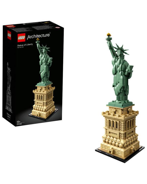 ALTRI LEGO ARCHITECTURE Unisex 12+ Anni 21042 - Statua della Libertà - Lego Architecture - Toys Center