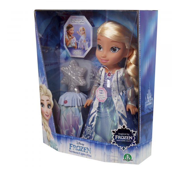 Elsa Luci del nord Disney Femmina 12-36 Mesi, 3-4 Anni, 3-5 Anni, 5-7 Anni, 5-8 Anni Disney Frozen