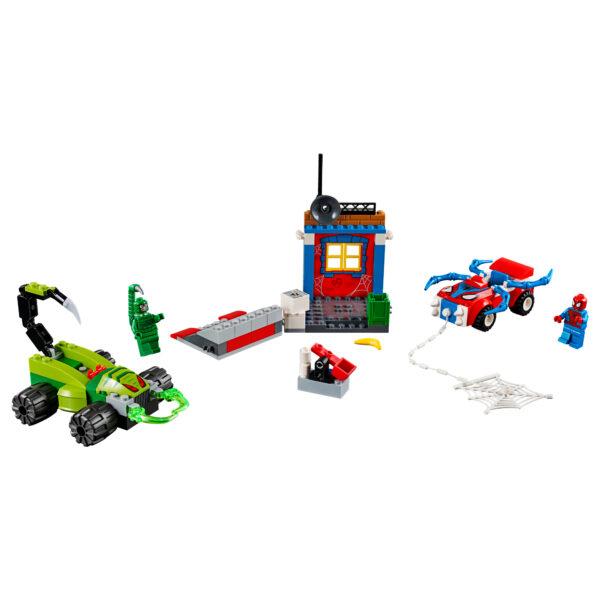 10754 - Spider-Man contro Scorpione: resa dei conti finale - Lego Juniors - Toys Center - LEGO JUNIORS - Costruzioni