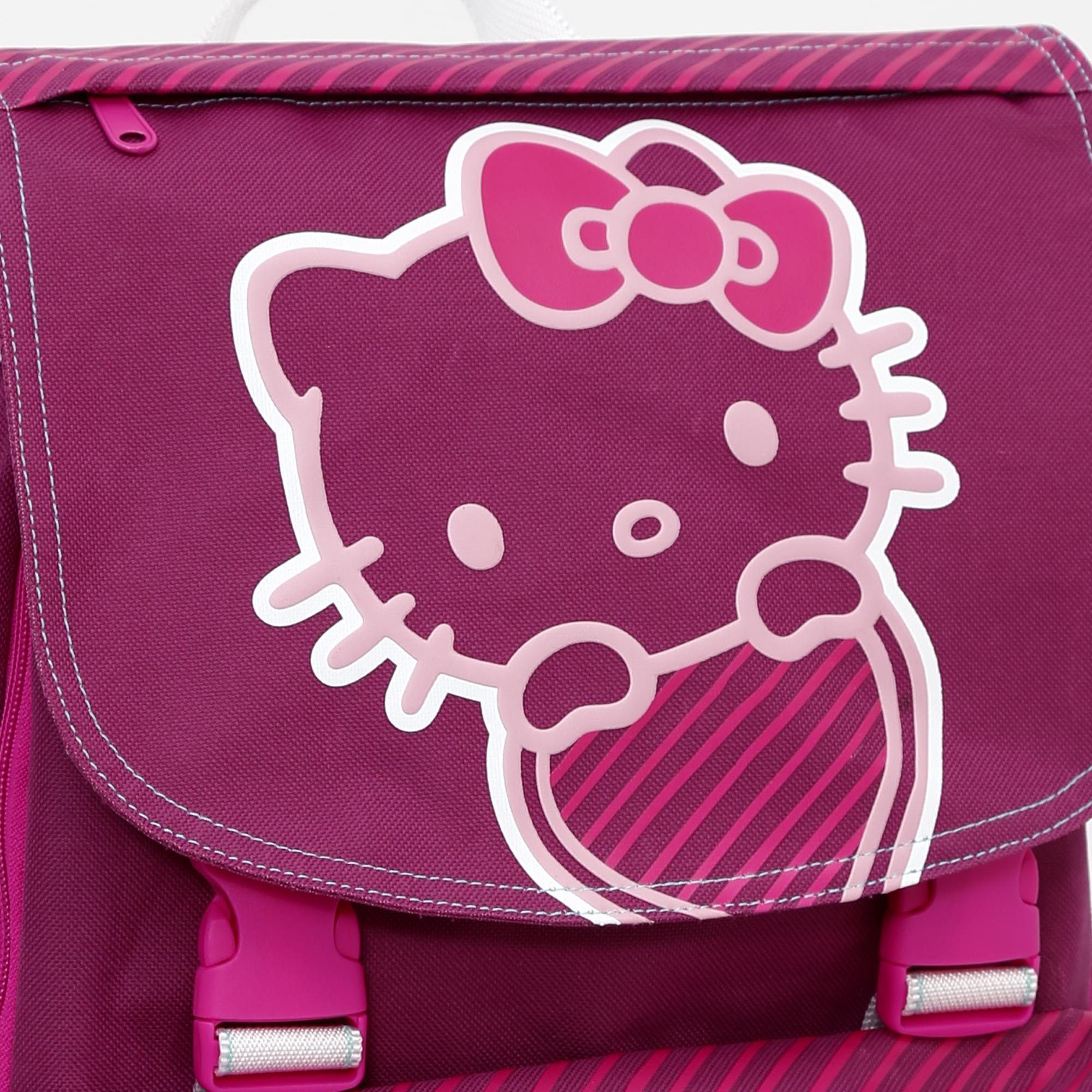 ea5e517ee1 Hello Kitty - Zaino Scuola Estensibile Medium Con Doppio Scomparto ...