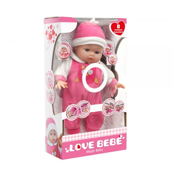 LOVELY BABY 40 CM - Love BebÈ - Toys Center - LOVE BEBÈ - Bambolotti e accessori