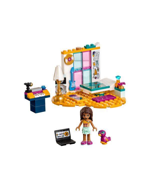 LEGO FRIENDS ALTRI 41341 - La cameretta di Andrea - Lego Friends - Toys Center Unisex 12+ Anni, 5-8 Anni, 8-12 Anni