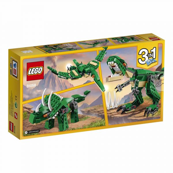 31058 - Dinosauro - Lego Creator - Toys Center ALTRI Maschio 5-7 Anni, 8-12 Anni LEGO CREATOR