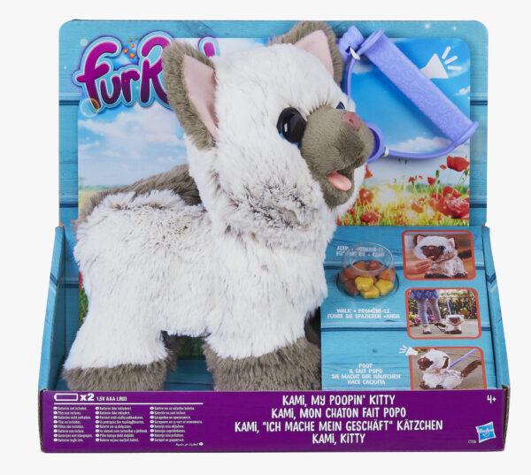 Gatta Kami - Fur Real FUR REAL Femmina 3-4 Anni, 5-7 Anni, 8-12 Anni ALTRI