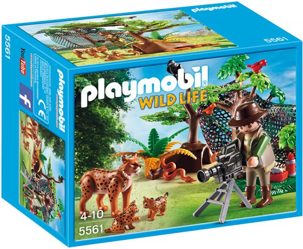 CAMERAMEN CON LINCI Playmobil Wild Life Maschio 3-4 Anni, 3-5 Anni, 5-7 Anni, 5-8 Anni, 8-12 Anni ALTRI