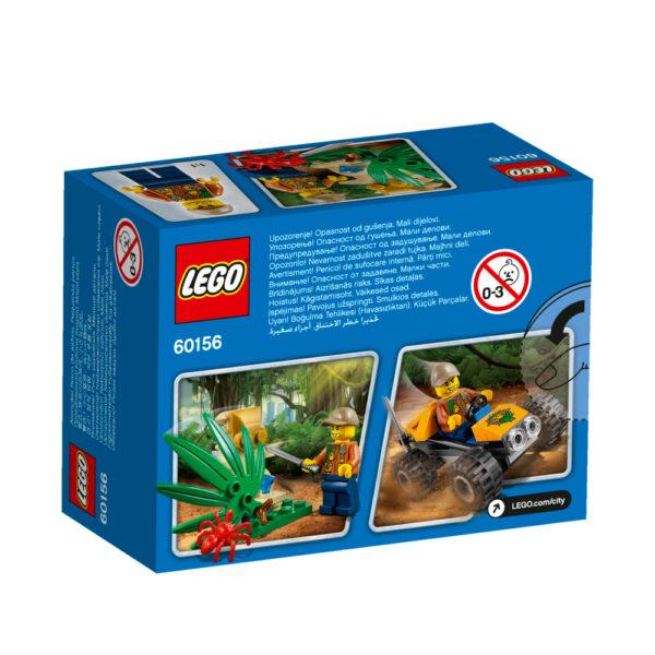 LEGO 60156 - Buggy della giungla ALTRI Maschio 12+ Anni, 3-5 Anni, 5-8 Anni, 8-12 Anni LEGO CITY